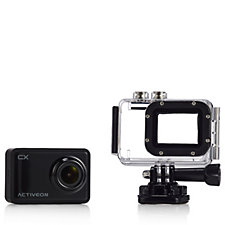 Activeon CX 1080p Full HD Action Camera with Colour Face Plates