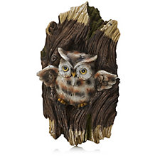 Plow & Hearth Owl Tree Peeper