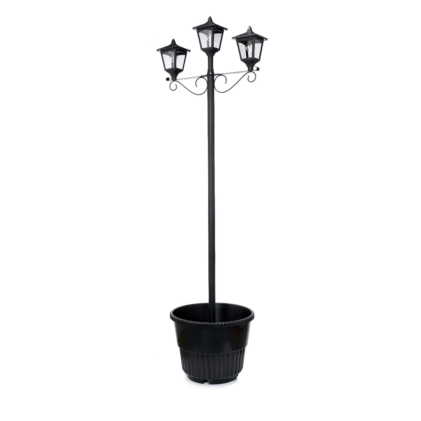 Solithia Three Headed Solar Lamp Post