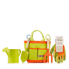 Richard Jackson's 4 Piece Children's Gardening Kit with Bag