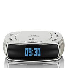 Lava Bedside Alarm Clock DAB/DAB Digital & FM Radio with CD Player