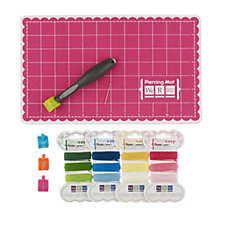 Outlet WE R  Memory Keepers Sew Easy Tool with 4 Heads 4 Thread Packs