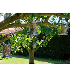 Jennings Set of 3 Mini Lantern Bird Feeders