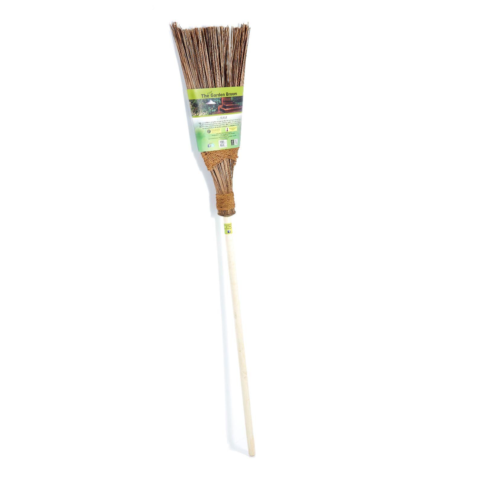 The Original Garden Broom - QVC UK