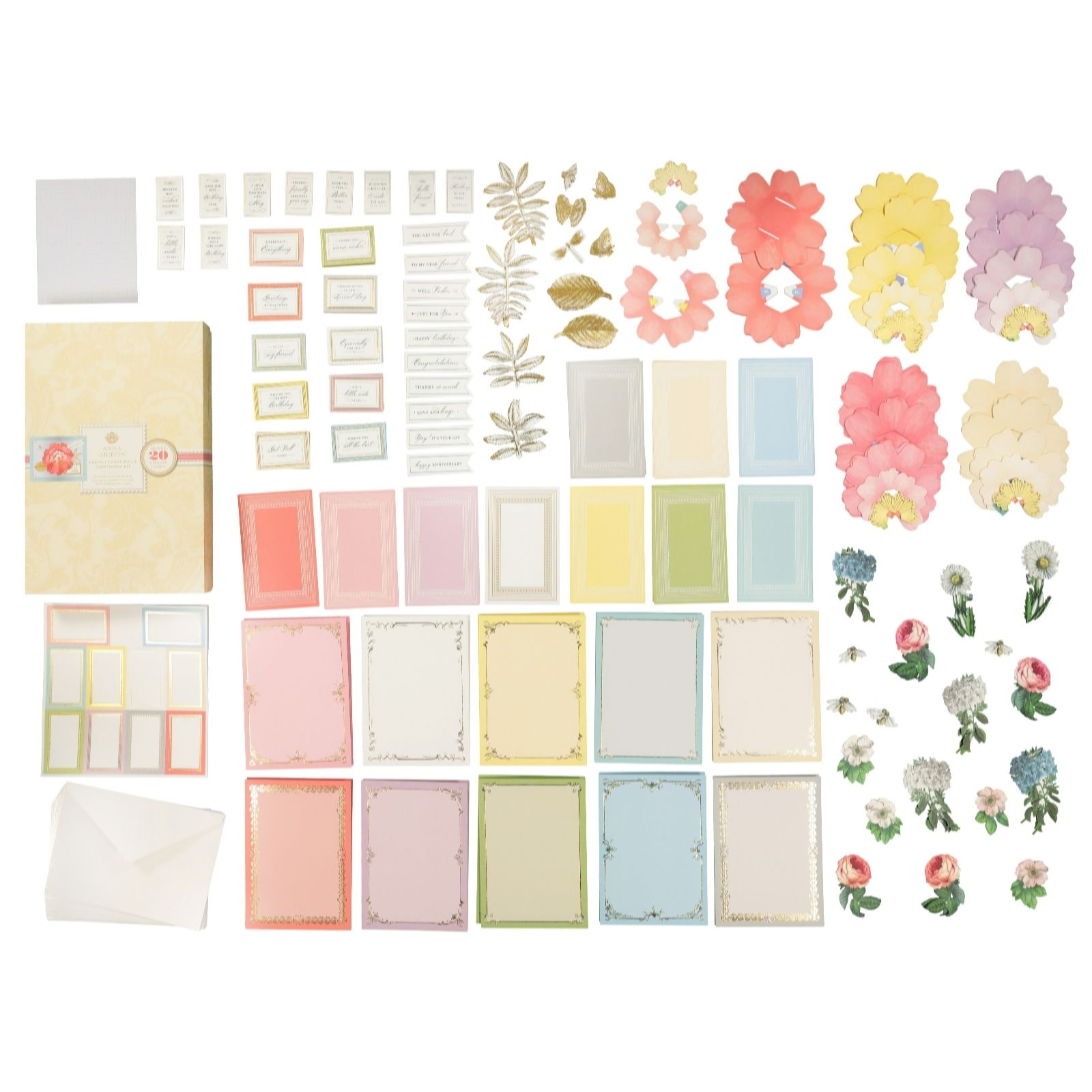 Anna Griffin Perfect Floral Pop Up Cards Qvc Uk