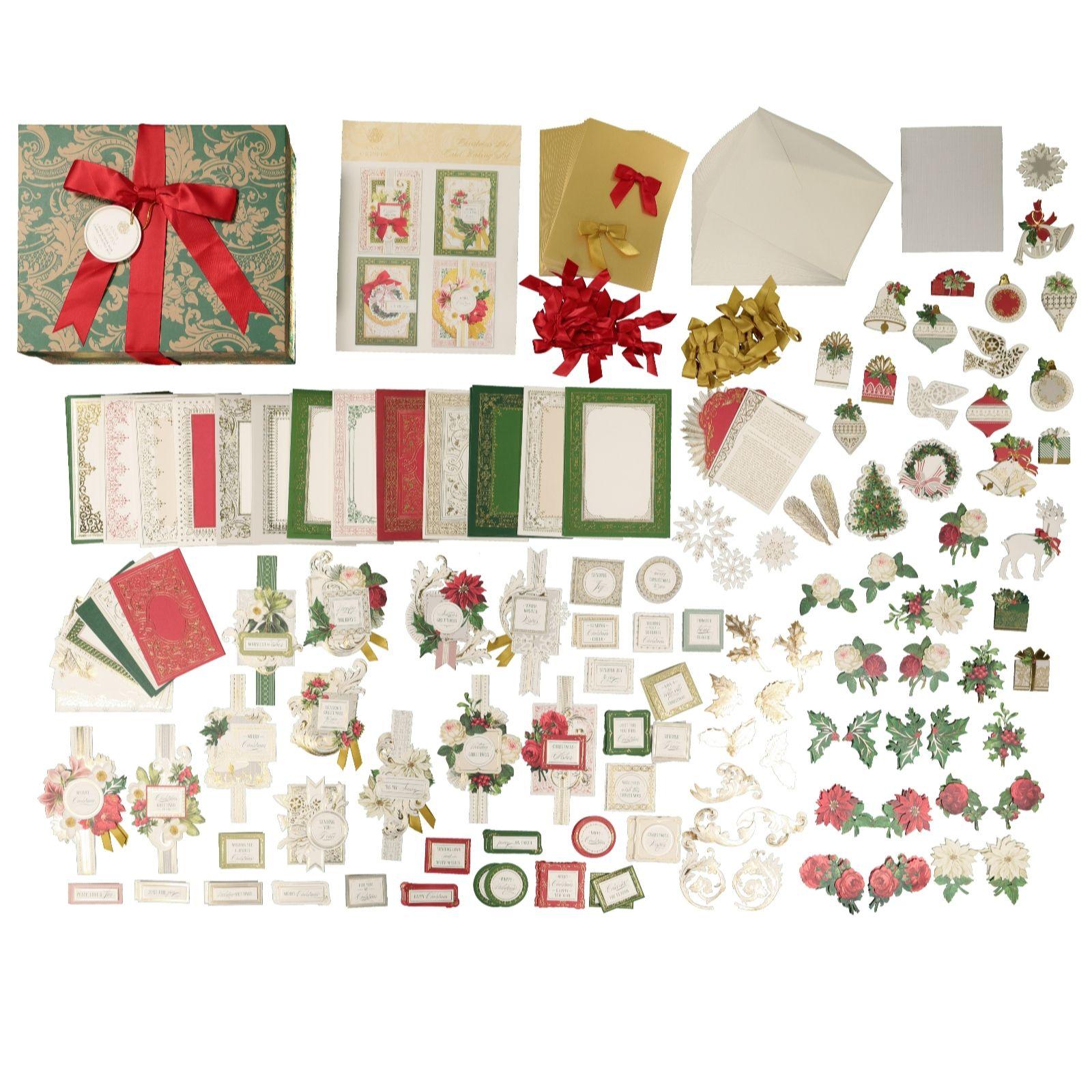 Anna Griffin 886 Piece Box Card Making Kit Qvc Uk