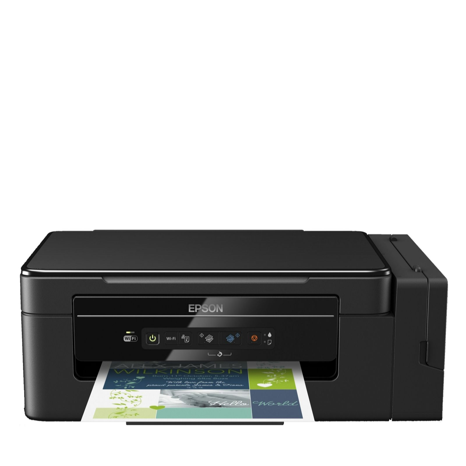 Epson Ecotank 3 in 1 Printer with Wi-Fi Paper & Ink - QVC UK