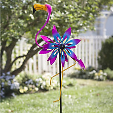 Plow & Hearth Decorative Garden Wind Spinner