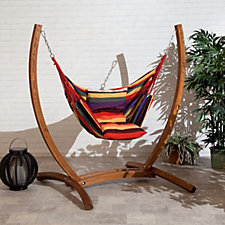 Sun Time Patagonia Wooden Garden Swing Chair