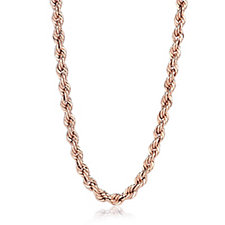 Gold Gallery 9ct Gold 40 Gauge 60cm Rope Chain