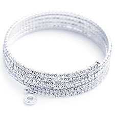 Anne Klein Crystal Expandable Bangle