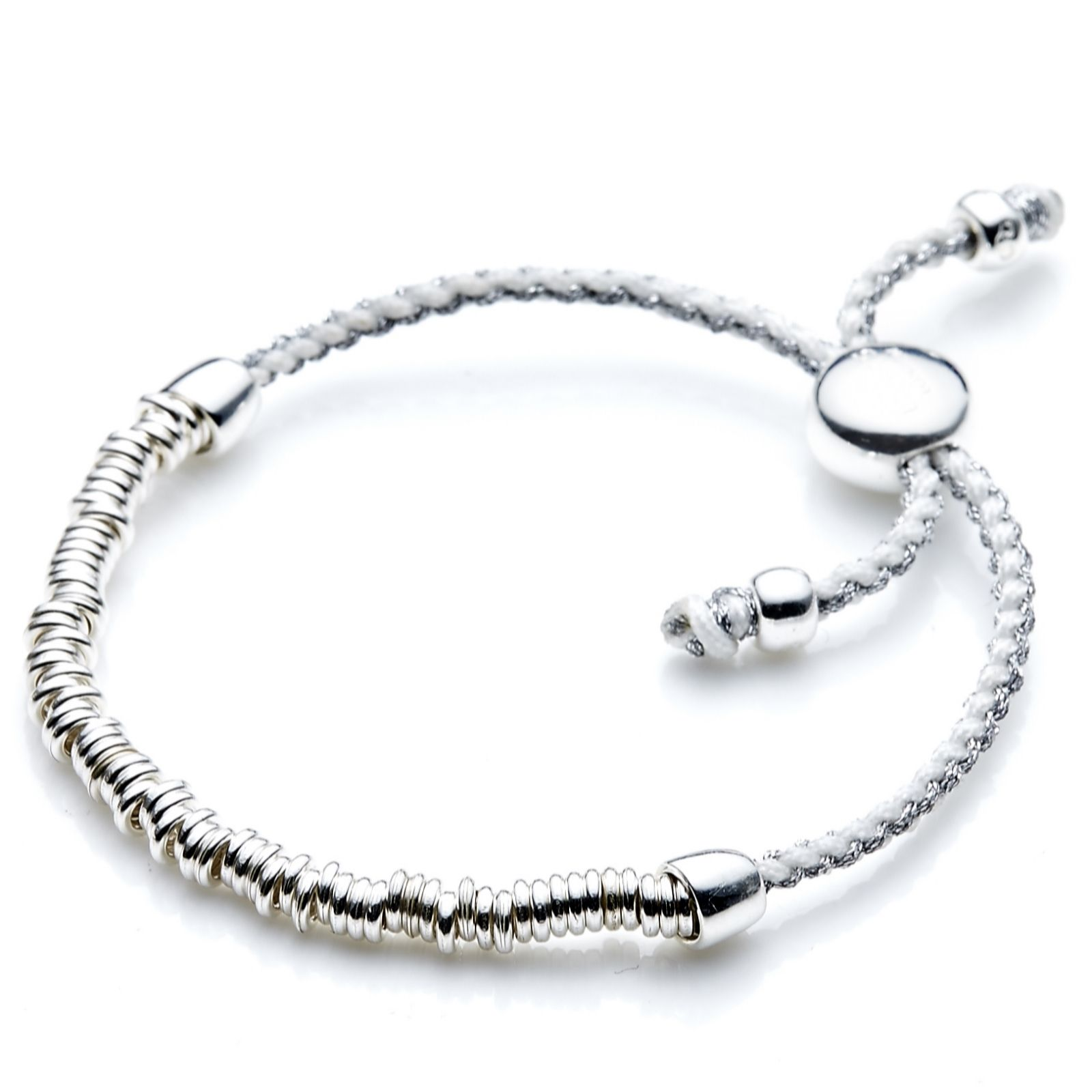 4f1bd49dd ... closeout links of london sweetie friendship bracelet sterling silver  page 1 qvc uk 50047 ce227