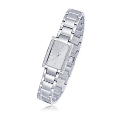 0.1ct Diamond Mother of Pearl Bracelet Watch