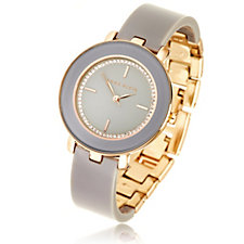 Anne Klein The Wishbone Swarovski Crystal Watch