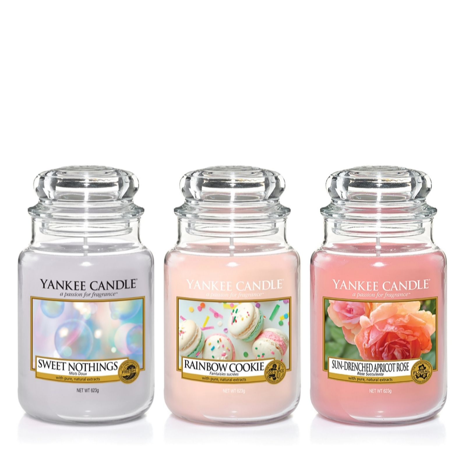 Yankee Candle Enjoy The Simple Things Set Of 3 Large Jars
