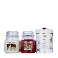 Yankee Candle The Perfect Christmas Set of 2 Medium Jars & Gift Box