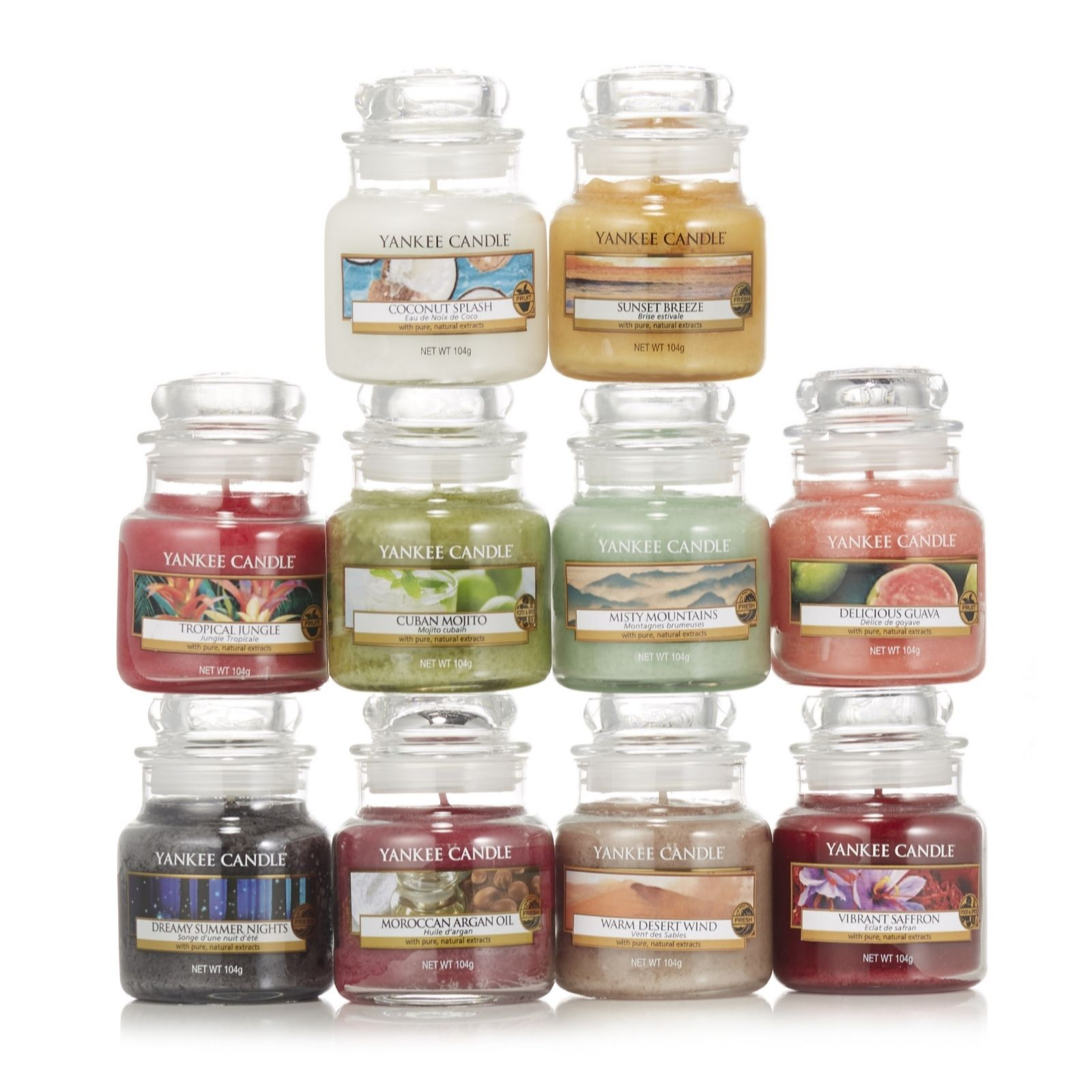 Yankee Candle Small Jar 40 Hr Burn Time Misty Mountains 2018 Fragrance