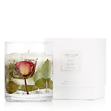 Stoneglow Nature's Gift Red Rose Gel Candle