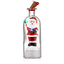 Mr Christmas Santa's Message in a Bottle