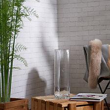 Peony Tall Glass Vase