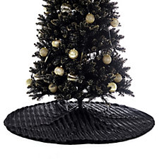 JM by Julien Macdonald Midnight Hour Faux Fur Christmas Tree Skirt