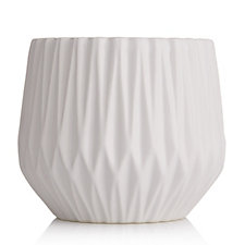 K by Kelly Hoppen Diamond Ribbed Vase