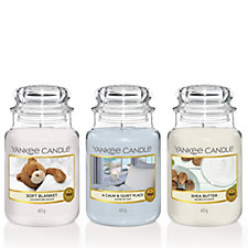 Yankee Candle Set of 3 Home Haven Large Jars
