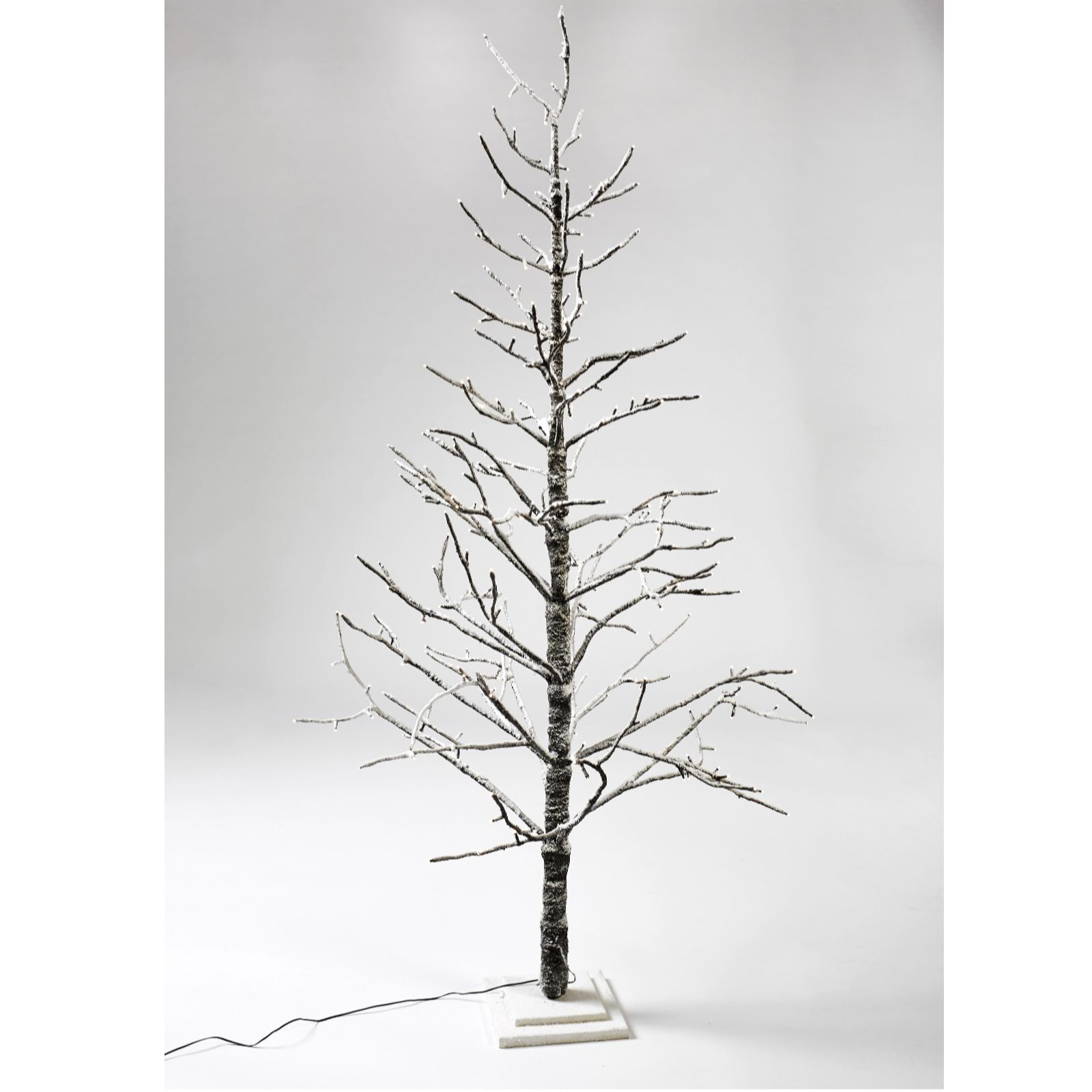 Christmas Branch Tree.Alison Cork 180cm Indoor Branch Tree With 270 Led Lights Qvc Uk
