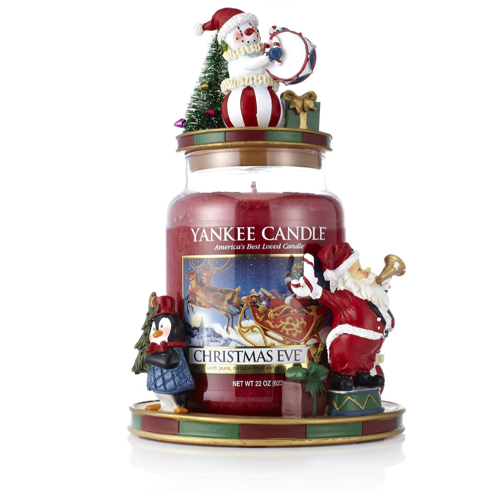 yankee candle christmas circus jar holder topper large. Black Bedroom Furniture Sets. Home Design Ideas