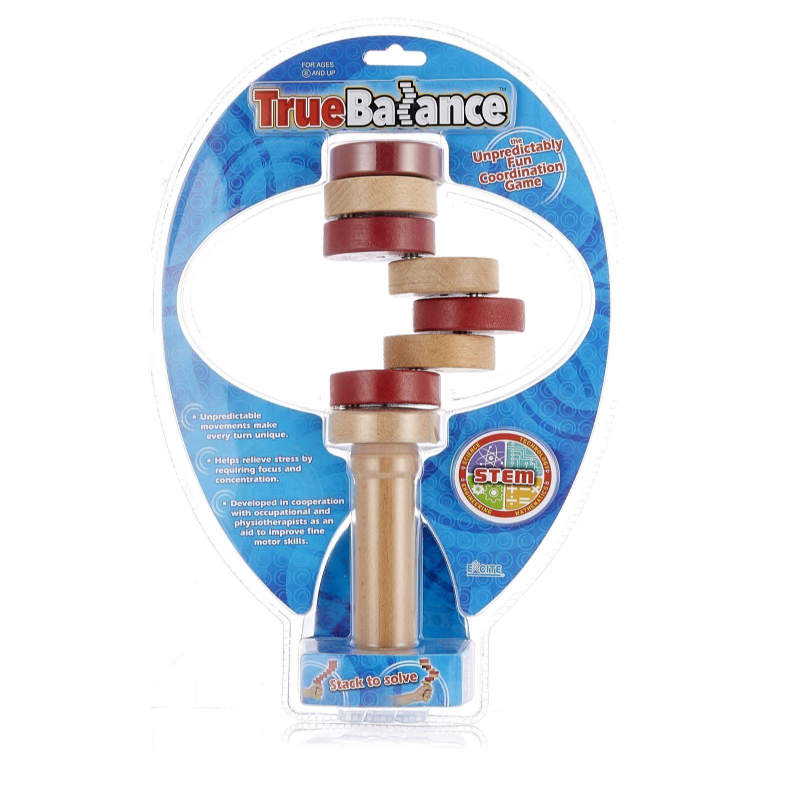 True Balance Wooden Handheld Balancer - QVC UK