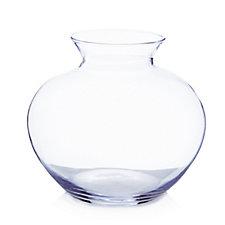 Peony Fishbowl with Lip Vase