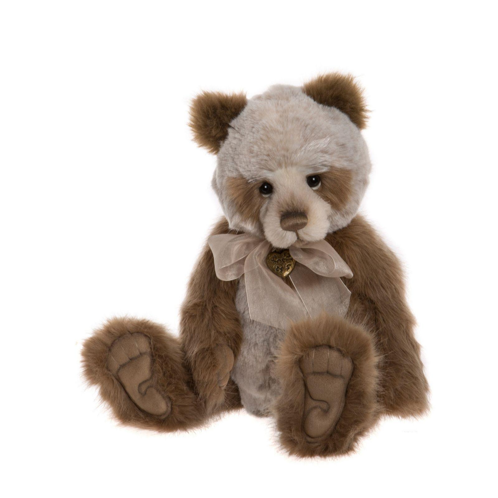 Fine Quality Bears Julian ~ Stunning Plush Bear By Charlie Bears ~ So Cute!