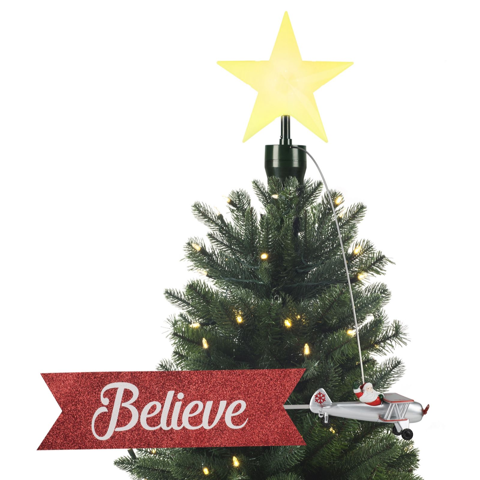 Mr. Christmas Animated Tree Topper - QVC UK