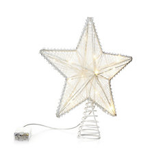 Home Reflections 25cm LED Tree Topper