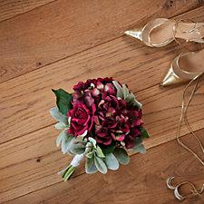 Peony Magenta Hydrangea Bouquet