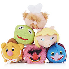 Disney Muppets Set of 6 Tsum Tsums Collection