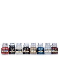 Yankee Candle Set of 8 Fresh Small Jars