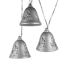 Mr Christmas Set of 3 Musical Silver Bells