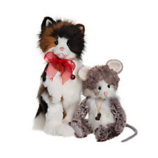 Charlie Bears Collectable Pawline & Pepe 11.5
