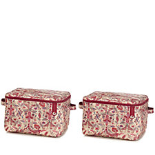 808208 - The Camouflage Company Set of 2 Square Zipped Chest
