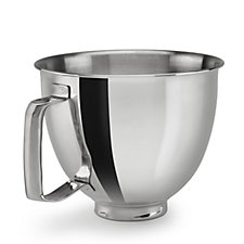 KitchenAid 3.3L Stainless Steel Bowl with Handle for Mini Stand Mixer