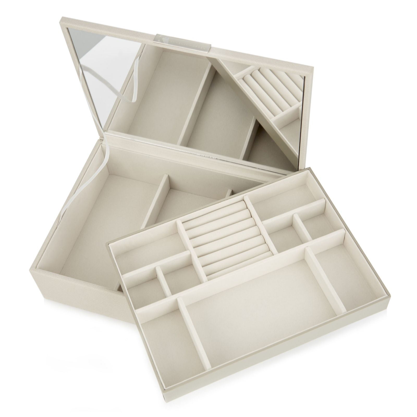 K By Kelly Hoppen Jewellery Box With Hidden Storage Qvc Uk