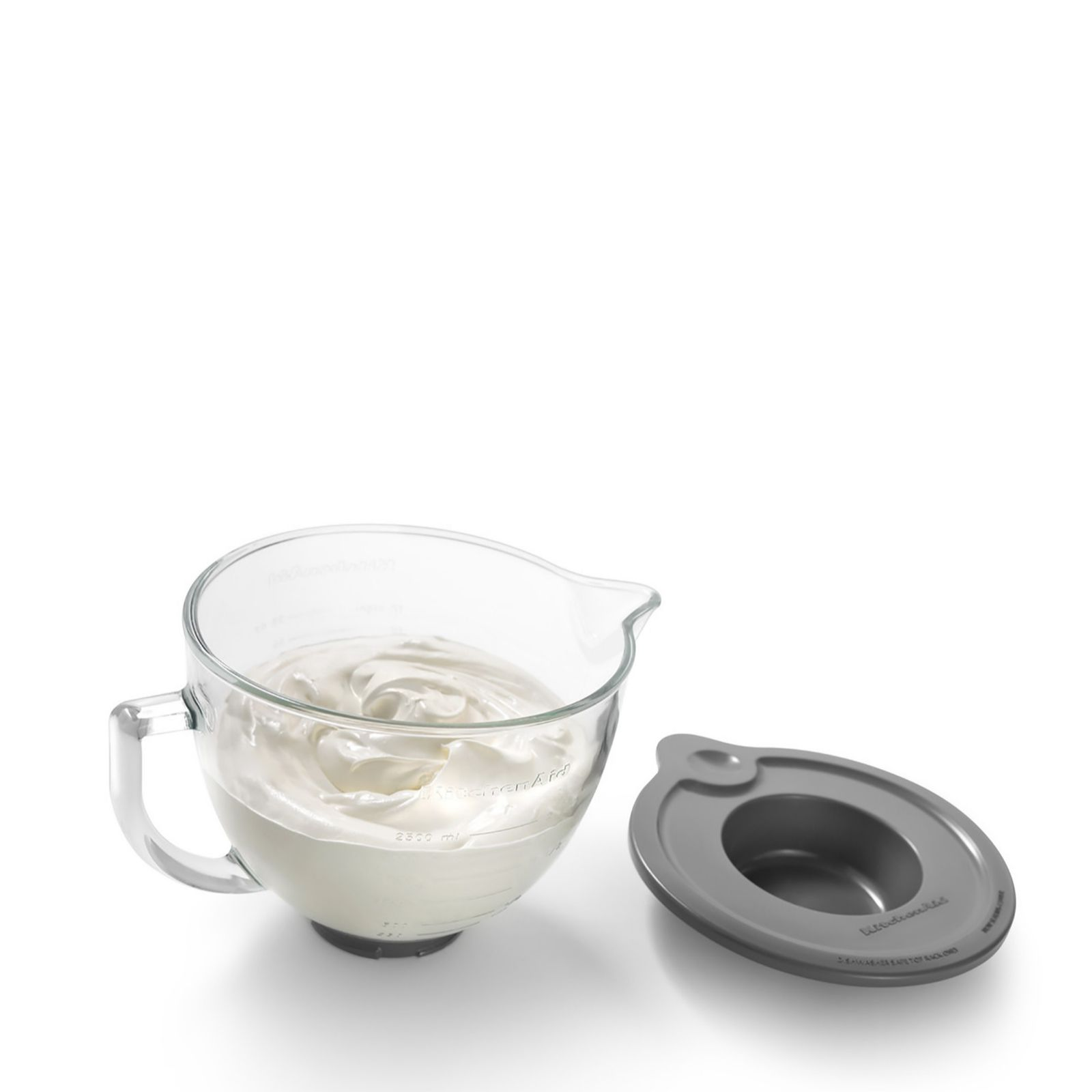 KitchenAid Frosted Glass Bowl For Artisan U0026 Classic Stand Mixer   QVC UK