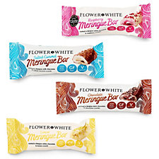 Flower & White 16 Piece Mixed Meringue Bars