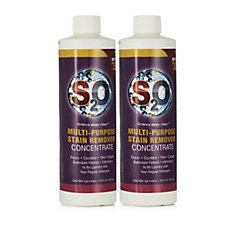 S2O Set of 2 x 475ml Stain Remover Concentrate
