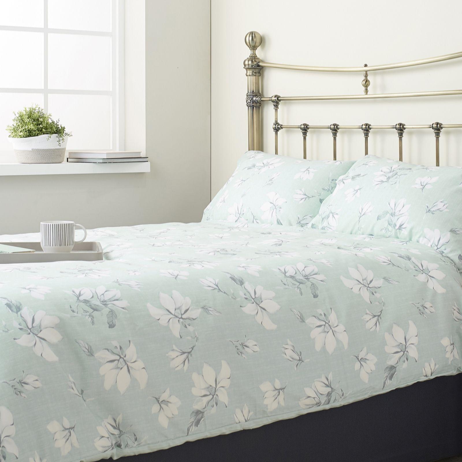 769c4921a3ec Cozee Home Madeline Floral Supersoft 4 Piece Duvet Set - QVC UK