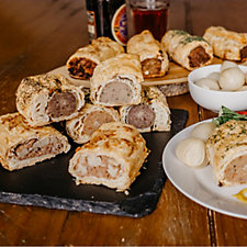 Toppings Pies 8 Piece Gourmet Sausage Roll Variety