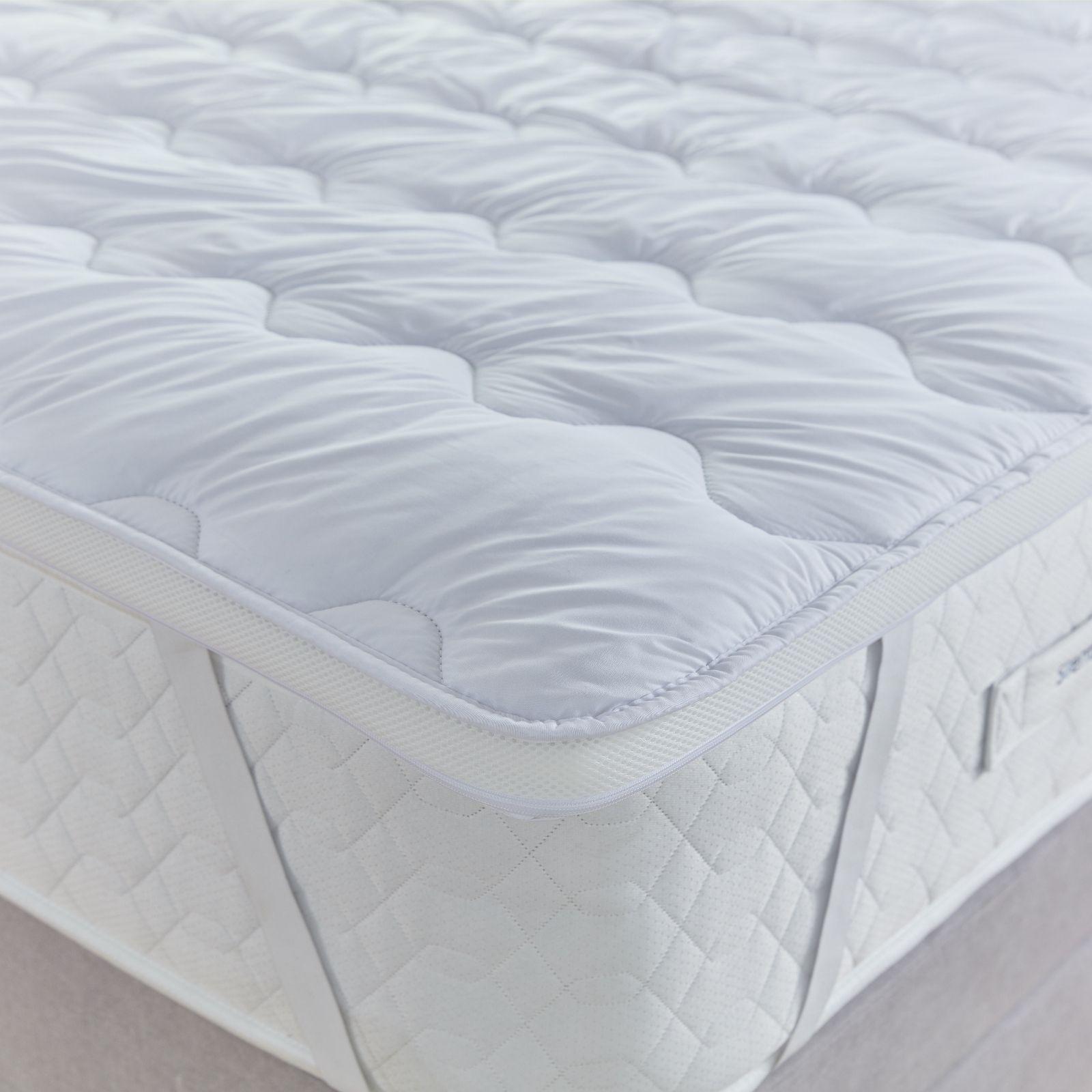 Orthopedic Anti Allergy Air Flow Mattress Topper Dual Air Mesh Hotel Deep Filled