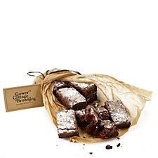 Gower Cottage Set of 12 Handmade Belgian Chocolate Brownies