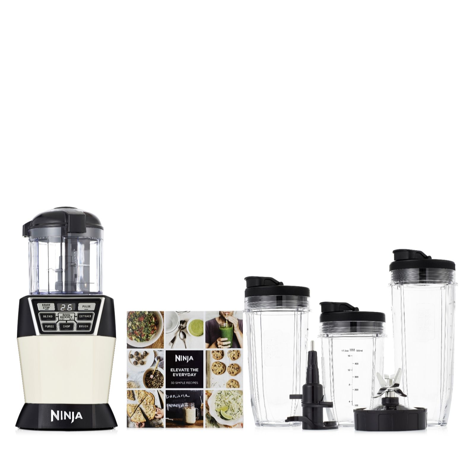 Outlet Nutri Ninja Duo NN100UK Auto IQ Blender & Chopper - QVC UK